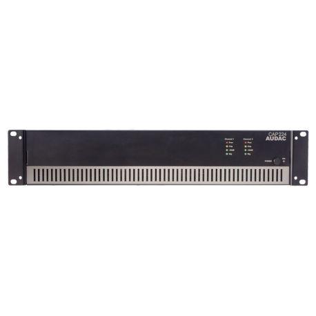 fAVuloso Amplificador Audac CAP224 2x240W a 100V