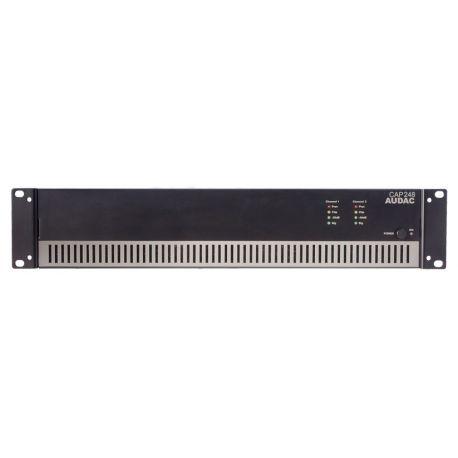 fAVuloso Amplificador Audac CAP248 2x480W a 100V