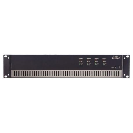 fAVuloso Amplificador Audac CAP412 4x120W a 100V