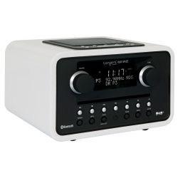 Tangent Alio BAZE Mono Radio CD Bluetooth Blanco