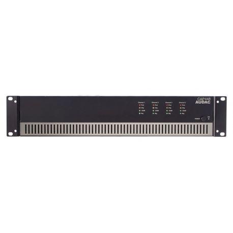 fAVuloso Amplificador Audac CAP448 4x480W a 100V