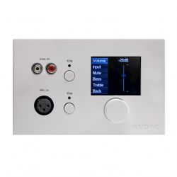 Panel control remoto Audac DW5066 Blanco