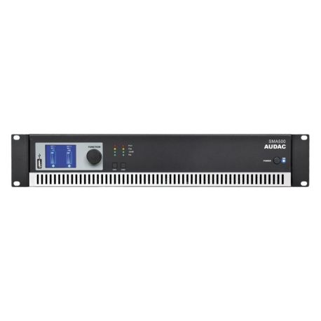 fAVuloso Amplificador Audac SMA500 2x500W a 4 Ohm
