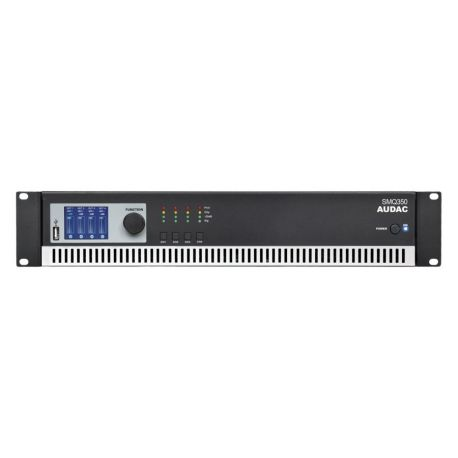 fAVuloso Amplificador Audac SMQ350 4x350W a 4 Ohm