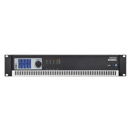 fAVuloso Amplificador Audac SMQ500 4x500W a 4 Ohm